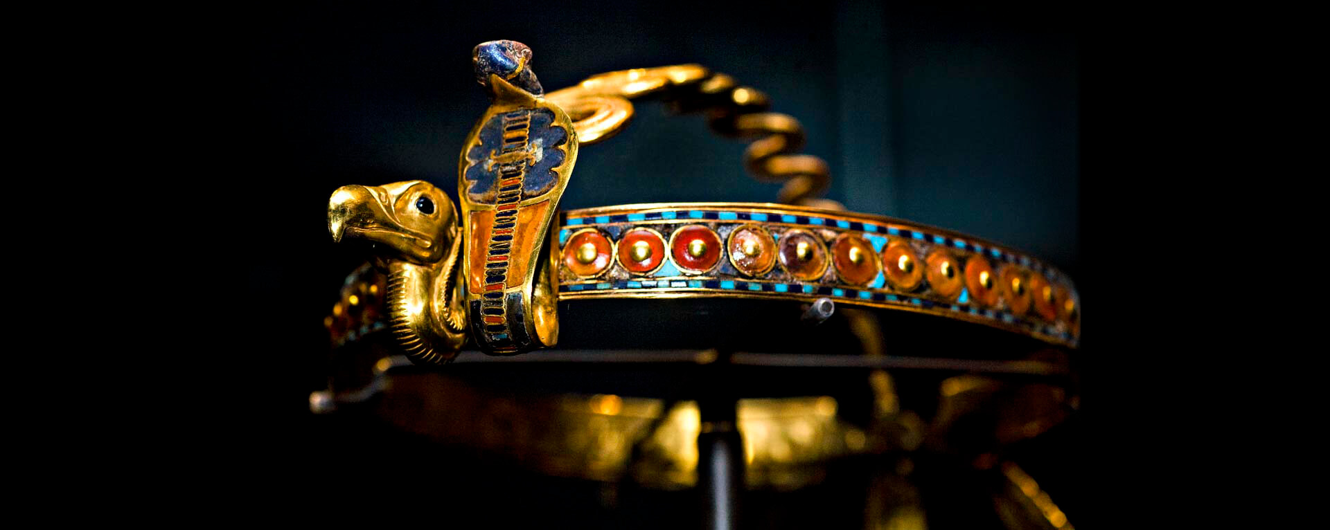 Diadem King Tutankhamun, The Egyptian Museum, Cairo