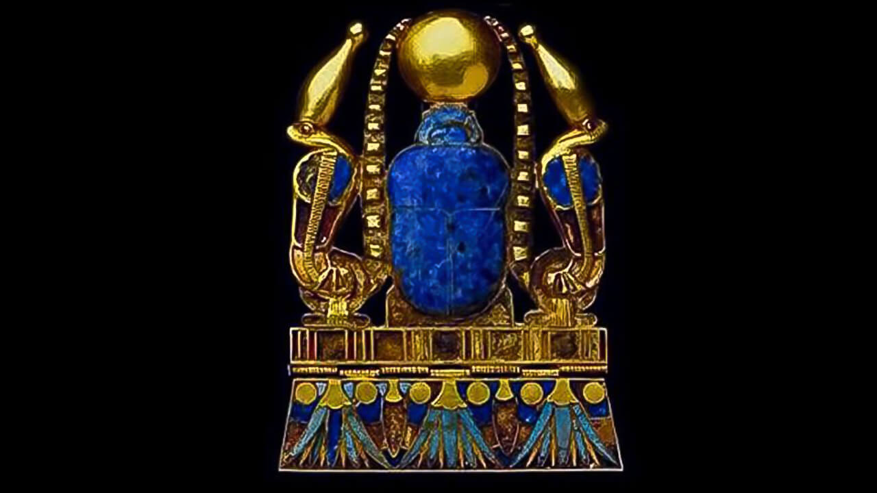 Ancient Egyptian Jewel: the cobras of protection