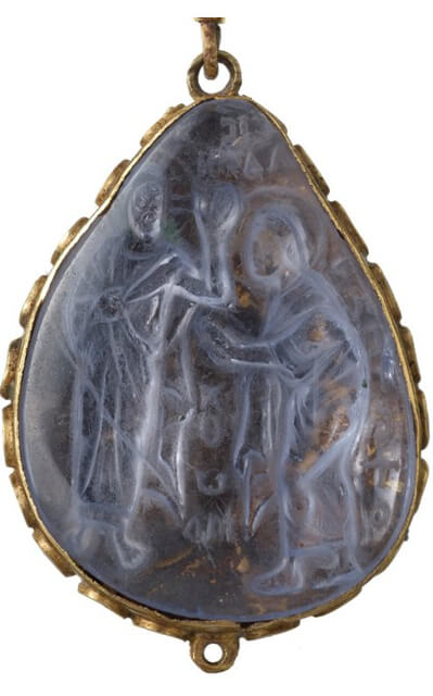 Cheapside Hoard Carved Byzantine gemstone