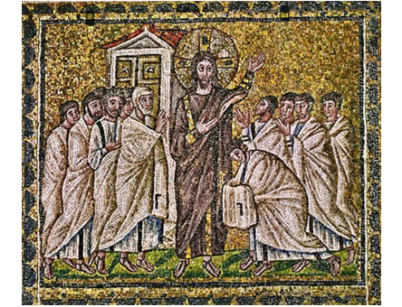 Fig 5 - Basilica of Sant' Apollinare Nuovo, Ravenna (ca. 520)