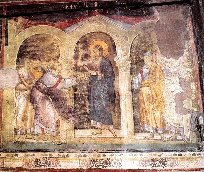 Fig. 10 - Church of Protaton (Koimesis) in Karyes on Mount Athos (1295)