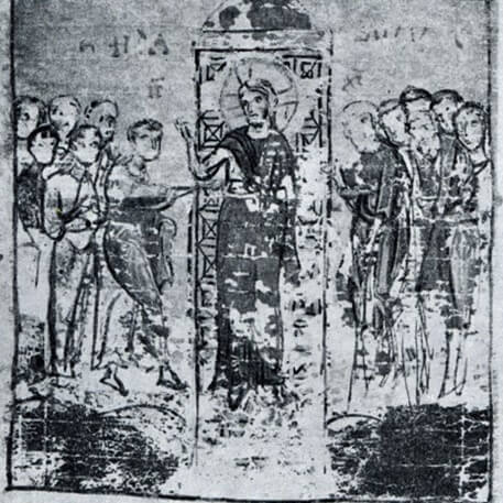 """stylistic analysis on byzantine art To speak of """"byzantine art"""" is a bit problematic, since the byzantine empire and  its  the stylistic and thematic interests of the early byzantine period continued."""