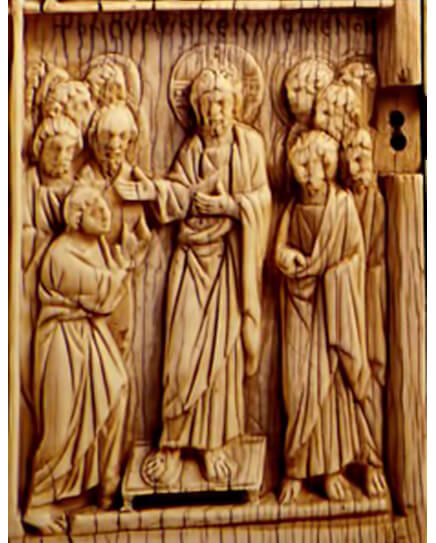 Fig. 6 - Middle Byzantine Period - Ivory Diptych With 12 Scenes From the Life of Christ, Constantinople the State Hermitage, Saint Petersburg (10th-11th Century)