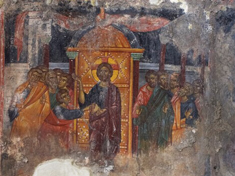 Fig. 8 - Late Byzantine Period - Church of the Apostles, Lithines, Crete (1415)