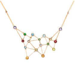 jaime-moreno-C90-constelacion-pendant-18kt-red-gold-tanzanites-tsavorites-sapphires-topaz-peridot-tourmaline-aquamarine