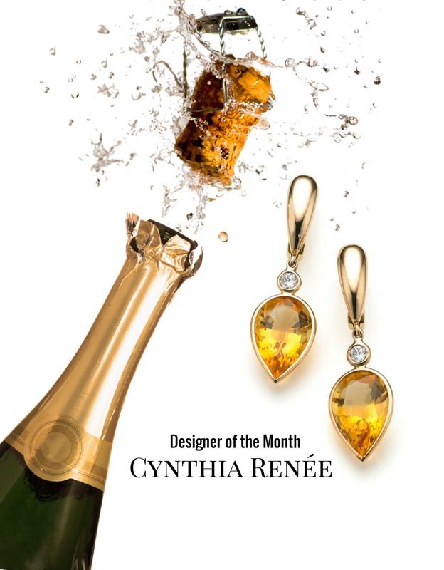 cynthia renee gold earrings