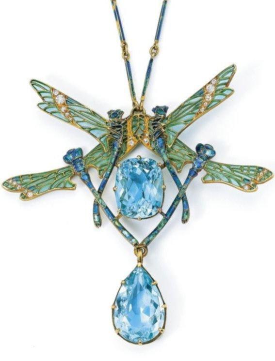 art nouveau, dragonflies, lalique