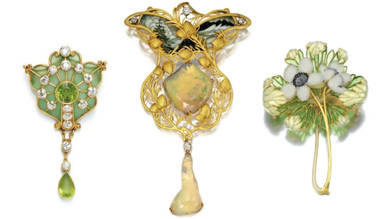 Arts And Crafts Period Jewelry