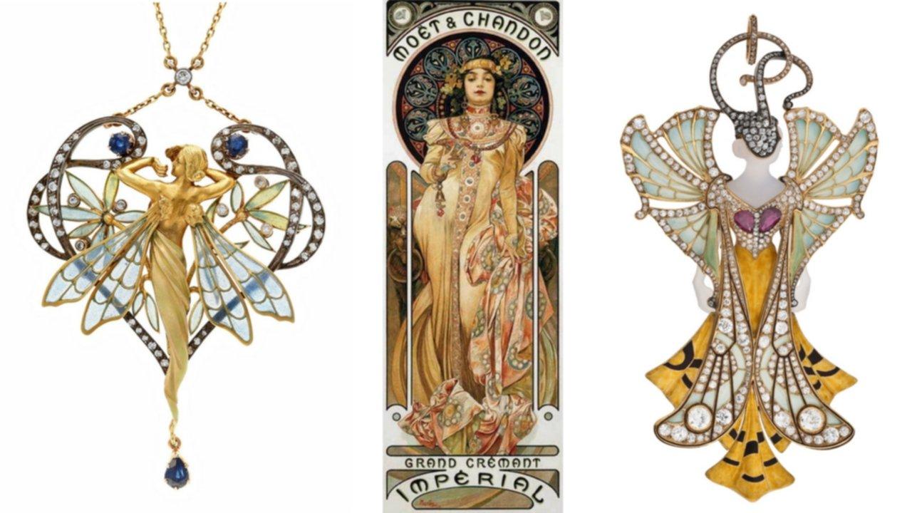art nouveau, masriera y carreras, lalique