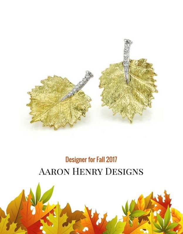 gold, earrings, autumn, leaf