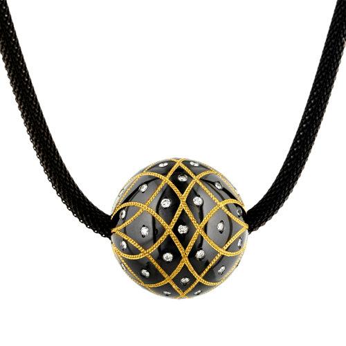 Knightsteel Byzantine Sphere Pendant