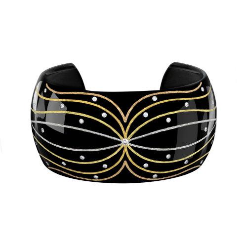 """""""Celestial Winds"""" Cuff Bracelet"""