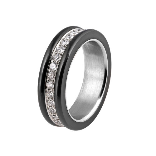 Knightsteel Diamond Eternity Band