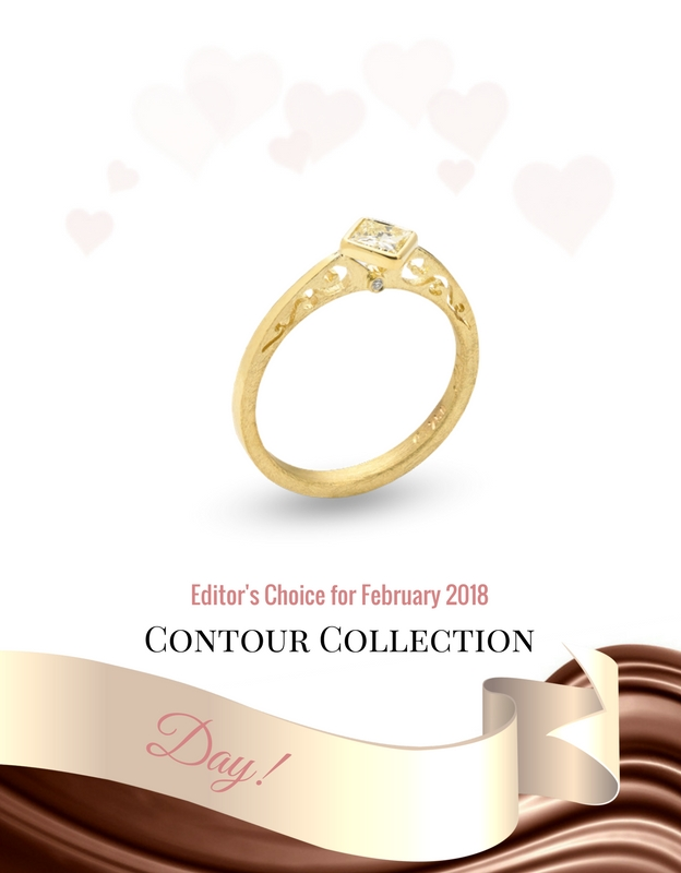 alishan gold engagement ring