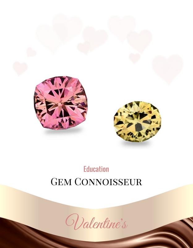 gems valentines pink