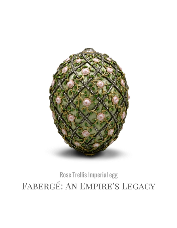 Fabergé imperial egg rose trellis